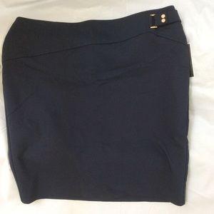 Alfani Navy Skirt, petite
